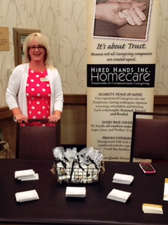 Santa Rosa's Director at the Alzheimer's Conference