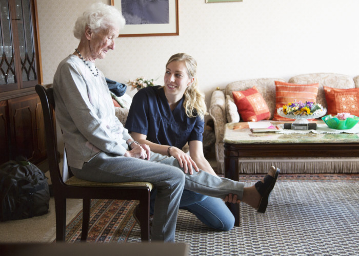 Safely Exercise at Home with the Help of Senior Home Care