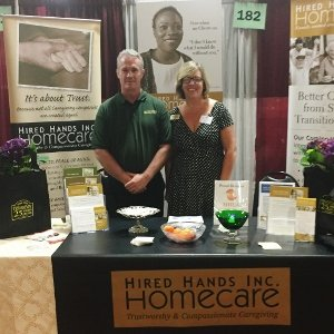 Join Hired Hands Homecare at our TWENTY-FIFTH Marin Senior Information Fair!