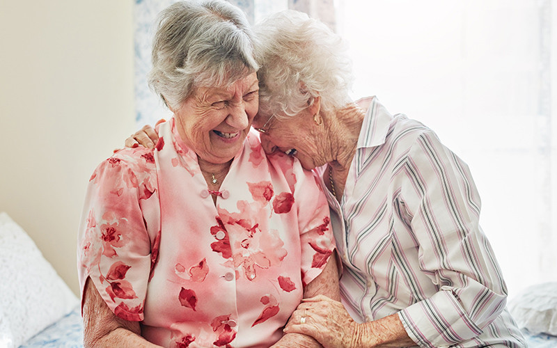 The Benefits of Laughter in Dementia Care