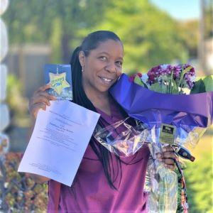 Honoring Kimberly!